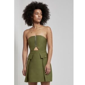 Cmeo collective no limit dress in pine